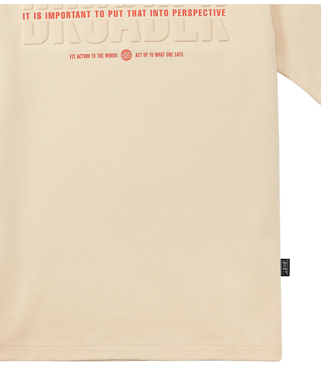 벙커버스터(BUNKERBUSTER) 엠보 그래픽 티셔츠