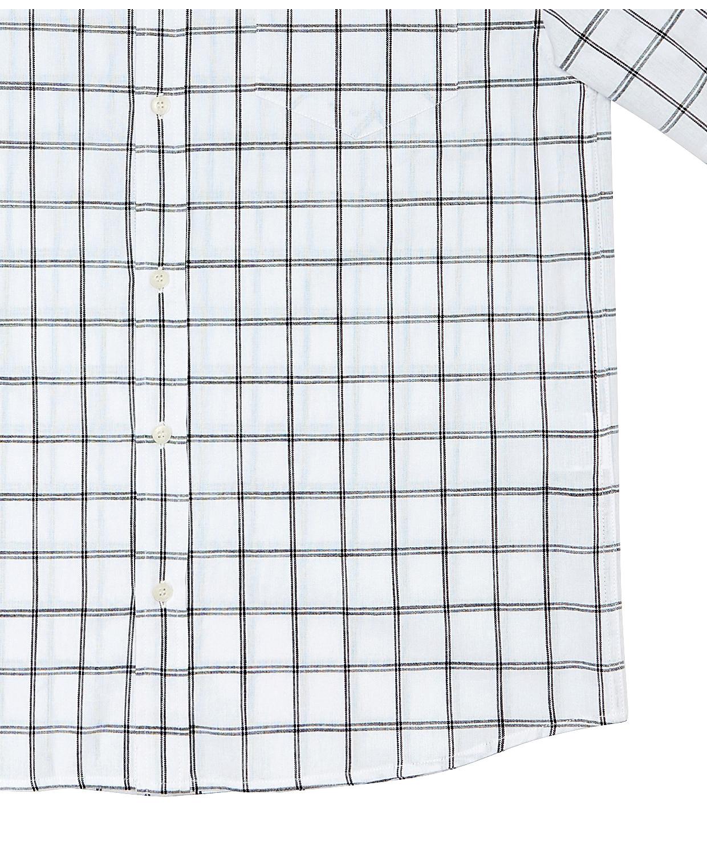 벙커버스터(BUNKERBUSTER) 베이직 체크 반팔 셔츠