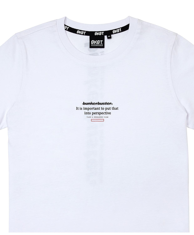 벙커버스터(BUNKERBUSTER) 뒷면 그래픽 반팔 티셔츠