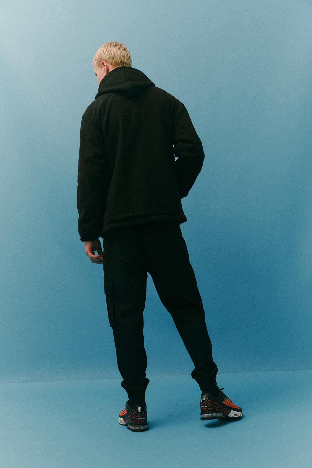 벙커버스터(BUNKERBUSTER) 리버시블 아이코닉 벙커 점퍼 009 BLACK (ML1JU009-076)
